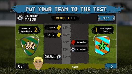Underworld football manager para Android