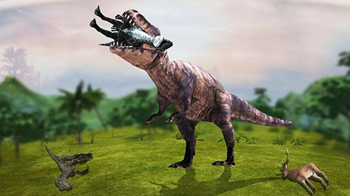 Actionspiele Dinosaur era: Survival game für das Smartphone