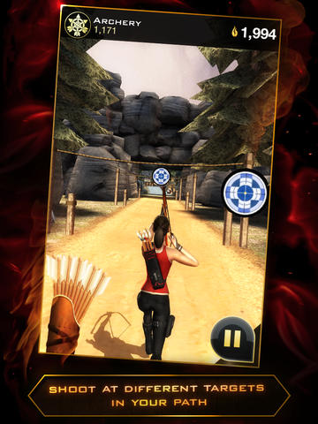 Arcade Hunger games: Panem run for smartphone