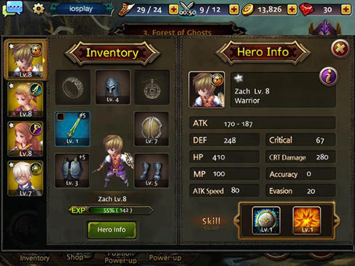 Dragon knights for Android
