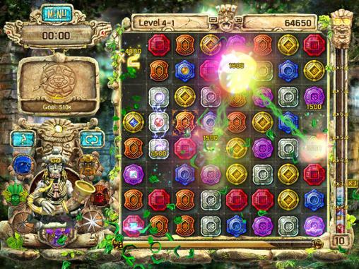 Jogos de arcade The treasures of Montezuma 4para smartphone