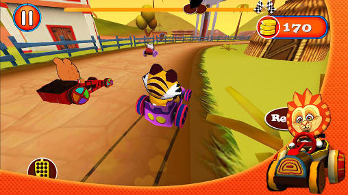 Jungle: Kart racing für Android