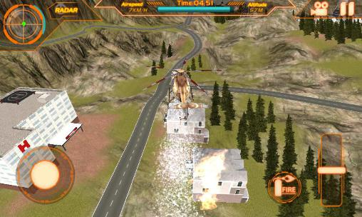 Fire helicopter: Force 2016 pour Android
