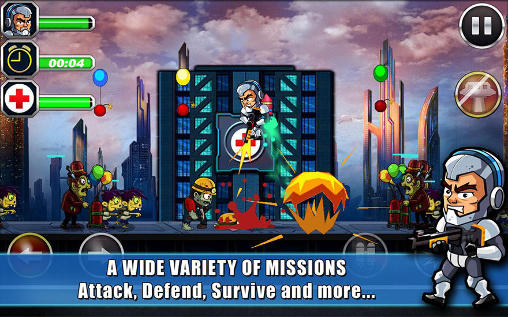 Zombie busters squad for Android