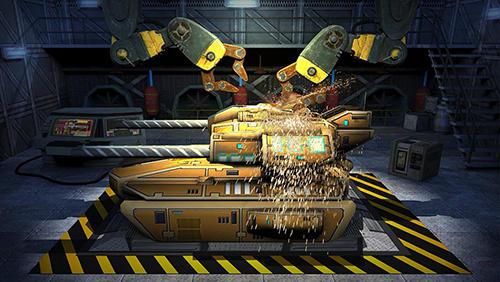Action Tank destruction: Multiplayer für das Smartphone