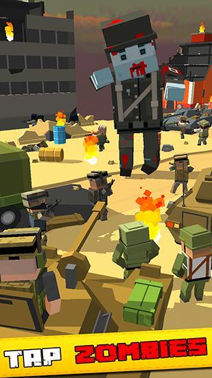 Tap zombies: Heroes of war Screenshot