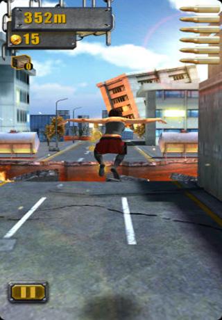 Screenshot Heißer Stadt-Lauf 3D auf dem iPhone