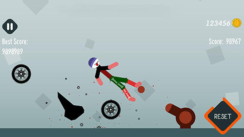 Ragdoll dismounting for Android