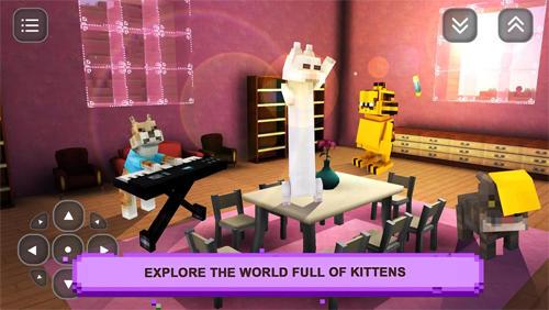 Cat pet shop: Girl craft story screenshot 2