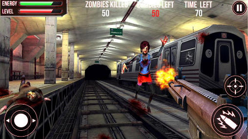 Subway zombie attack 3D для Android