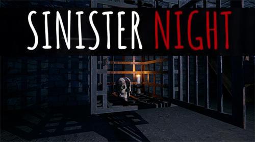 Sinister night: Horror survival game screenshot 1