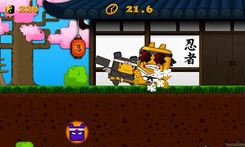 Ninja games Cubemon ninja school in English