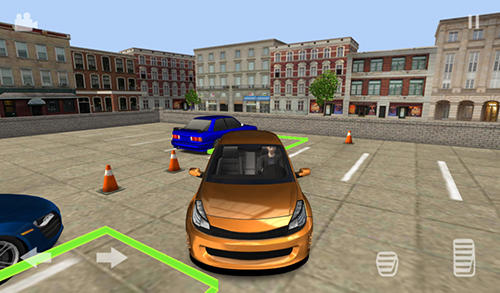 Simulation Car parking valet für das Smartphone