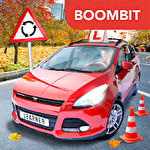Car driving school simulator icono
