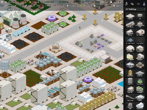 Wirtschafts-Strategie My colony auf Deutsch
