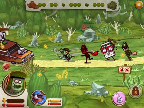 Screenshot Der große Streich Krieg auf dem iPhone