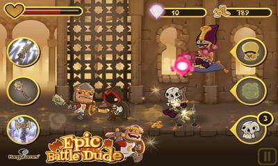 Arcade Epic Battle Dude für das Smartphone