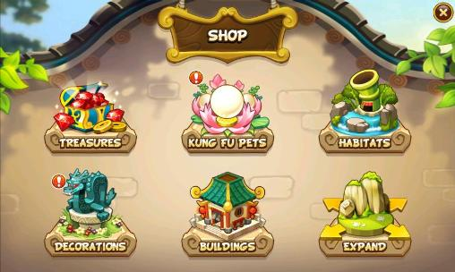 Kung fu pets для Android