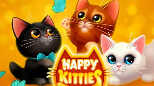 标志Happy kitties