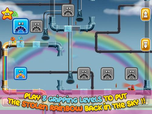 Screenshot Gumball: Regenbogen Krawall auf dem iPhone