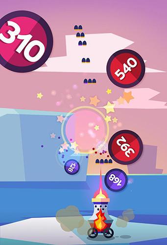 Jogos de arcade: faça o download de Explosão de bolas de cor para o seu telefone