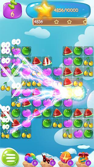 Arcade Fruit jam splash: Candy match für das Smartphone