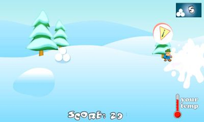 SnowBall Fight Winter Game HD für Android