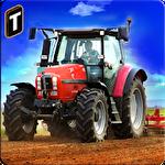 Farm tractor simulator 3D icono