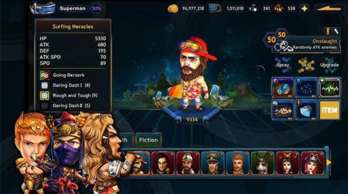 RPG Amusing heroes: Strategy RPG für das Smartphone