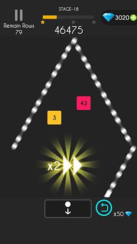 Logikspiele Balls bounce puzzle! für das Smartphone