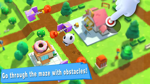 Baby panda's puzzle town: Healthy eating für Android
