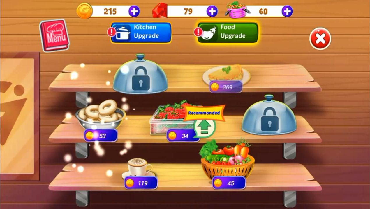 My Cafe Shop - Indian Star Chef Cooking Games 2020 скріншот 1