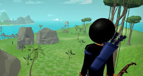 Stickman archery 2: Bow hunter Screenshot