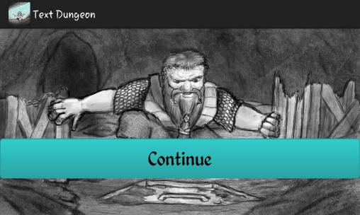 Text dungeon für Android