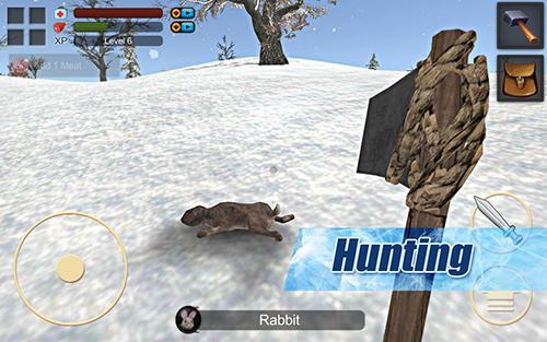 Survival game winter island 3D screenshot 4