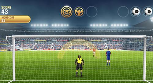 Flick kick goalkeeper für Android