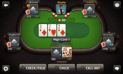 Poker games World poker club in English