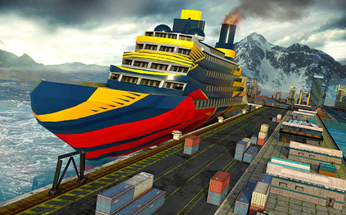 Cruise ship driving racer für Android