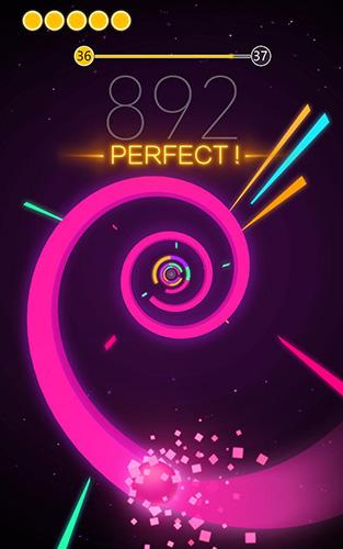 Arcade-Spiele Color tube für das Smartphone
