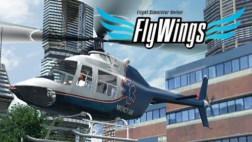 Helicopter simulator 2016. Flight simulator online: Fly wings captura de tela 1