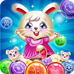 Bunny bubble shooter pop: Magic match 3 island Symbol