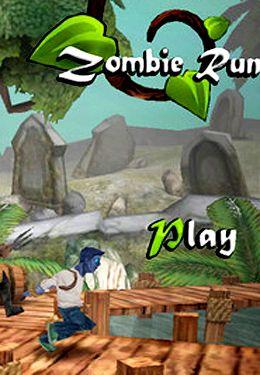 логотип Зомби - Бегун
