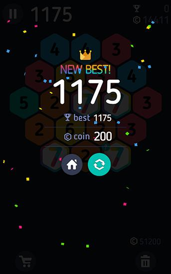 Make 7! Hexa puzzle screenshot 4