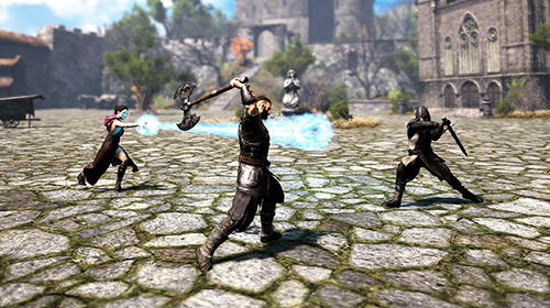 Evil lands: Online action RPG capture d'écran 1