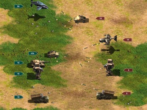 War of nations for Android