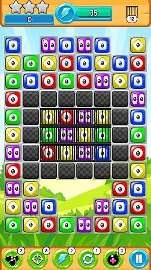 Arcade-Spiele Blob party für das Smartphone