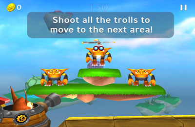 Arcade: download Skylanders Cloud Patrol to your phone