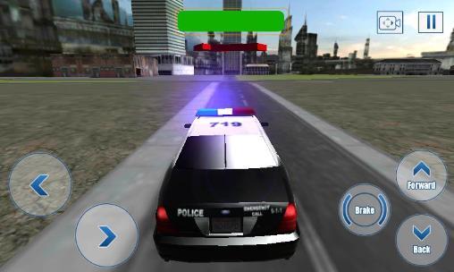 Straßenrennen Cop duty: Simulator 3D auf Deutsch