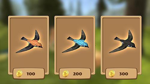 Simulation Swallow simulator: Flying bird adventure für das Smartphone