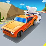 Skid car rally racer icône